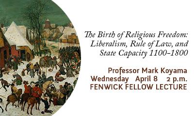 Fenwick Fellow Lecture/Koyama